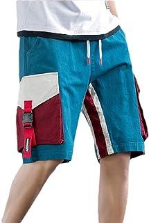 omniscient Men's Lightweight Multi Pocket Casual Cargo Shorts Outdoor Cotton Short