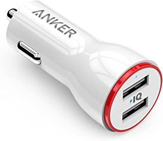 شاحن سيارة أنكر بور درايف 2 متوافق مع آيفون, آيباد, جالكسي,Anker PowerDrive 2