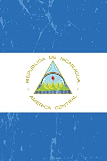 Nicaragua Flag Journal: Nicaragua Travel Diary, lined Journal to write in