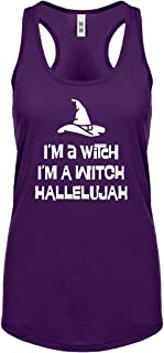 Im a Witch Hallelujah Womens Racerback Tank Top