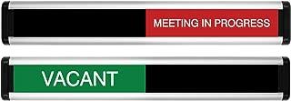 meeting in progress sliding sign