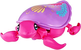 Little Live Pets Lil' Turtle - Interactive, Moves Like A Real Turtle, Swims in Water, and Walks On Land - Sandy (26206)