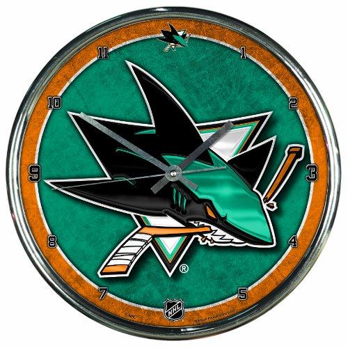 Wincraft NHL San Jose Sharks Chrom Uhr