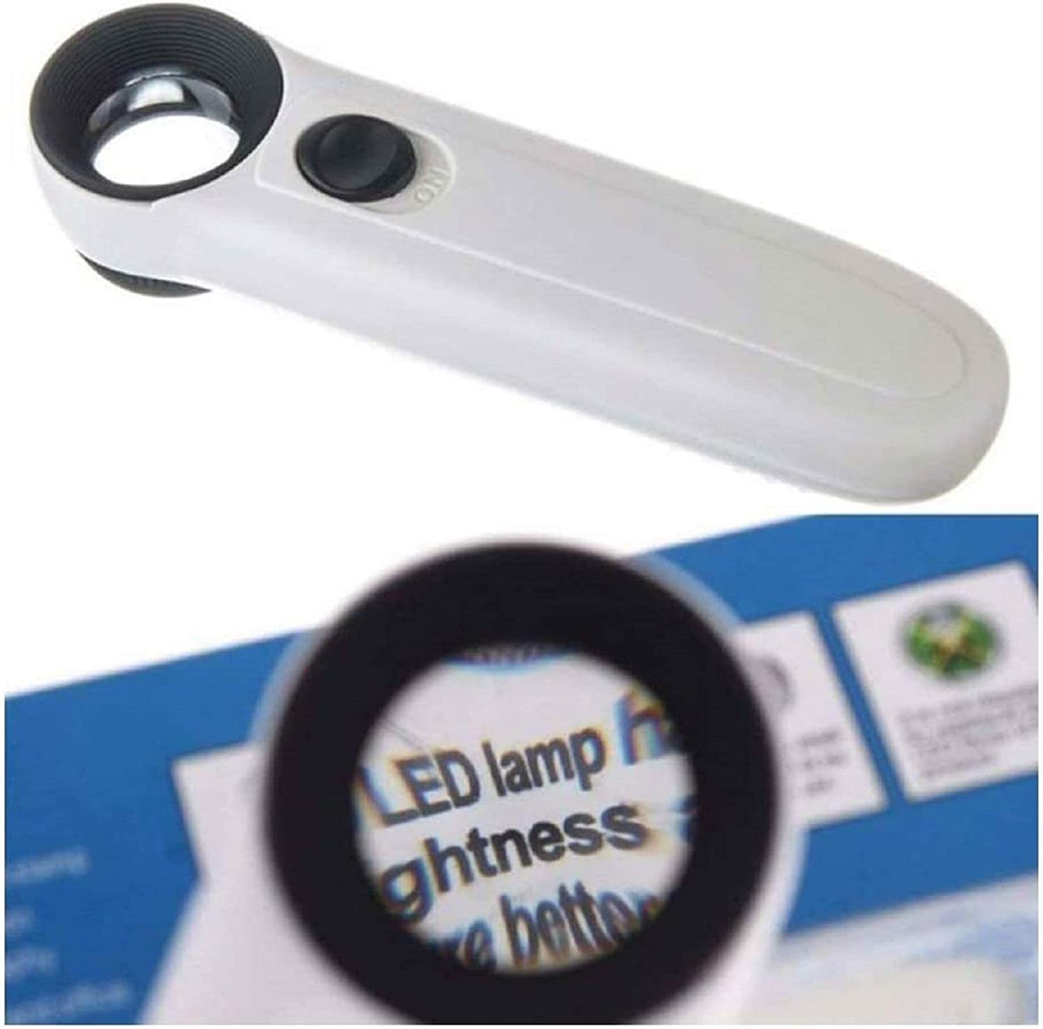 40X Magnifying Magnifier Glass trust Jeweler Loupe Max 73% OFF Jewelry Loop 2 Eye