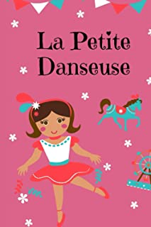"La petite danseuse: Nice Notebook Journal Gift for lived ones blank lined Notebook 120 pages size ""6 x 9"""
