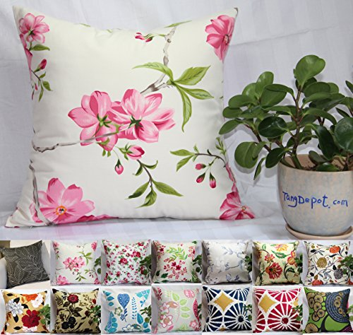 Our #4 Pick is the TangDepot Print Cloth Decorative Throw Pillow
