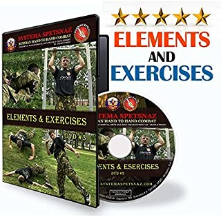 Russian Martial Art Systema DVD #3: Elements and Exercises. Self-Defense Training DVD of Close Hand-to-Hand Combat Fighting by Russian Systema Spetsnaz. Martial Art Instructional Video to Learn Self Defense at Home.