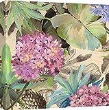 Art Print Cafe – Cuadro – Impresion Sobre Lienzo - Eve C. Grant, Hortensias Rosadas - 50X50 cm