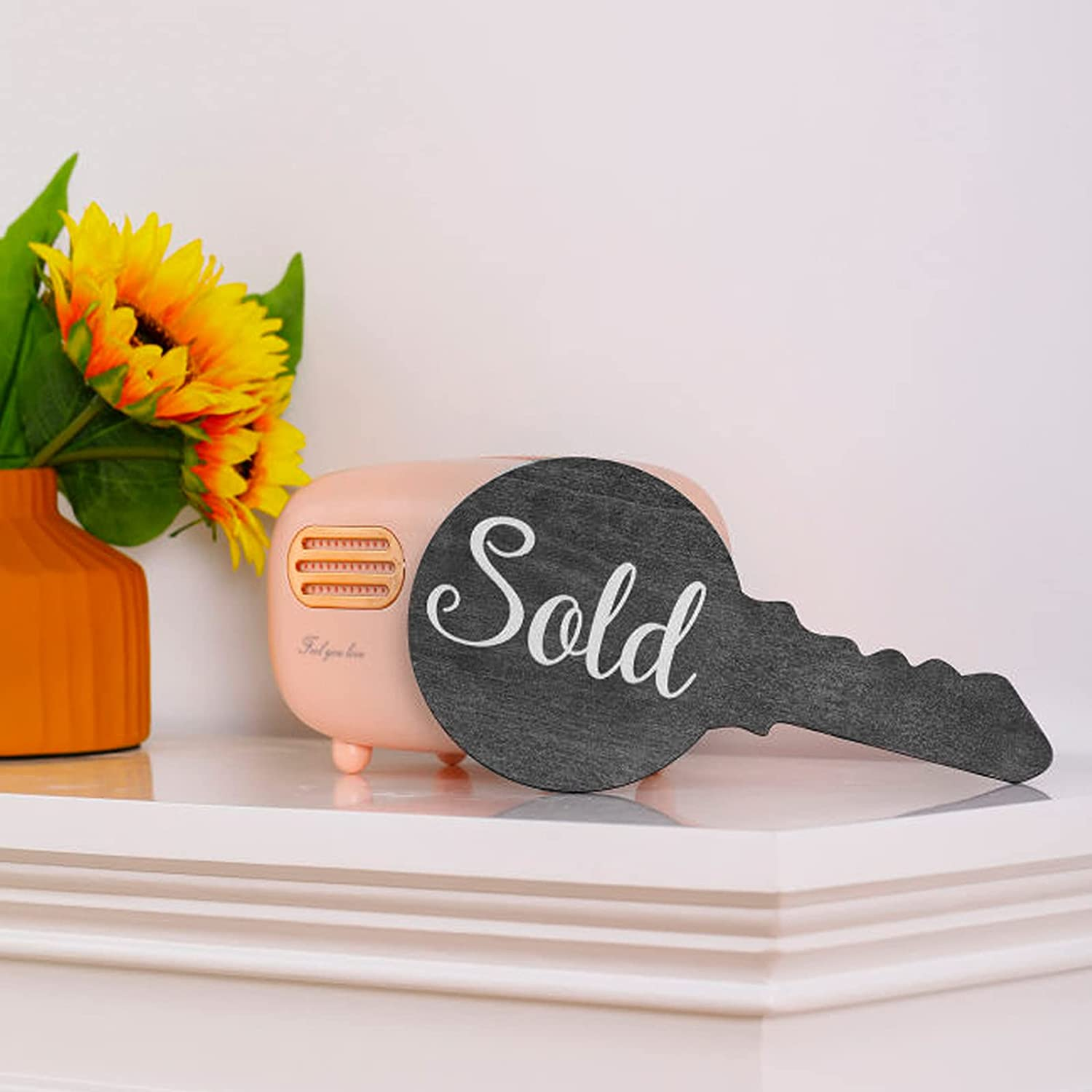 Real Estate Sold Sign 67% OFF of fixed price for Key Shaped Homeowners Deluxe New