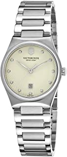 Victorinox Women`s  Victoria Analog Display Swiss Quartz Silver Watch
