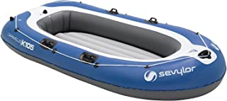 Sevylor Caravelle 3 Person Inflatable Boat -Blue/White