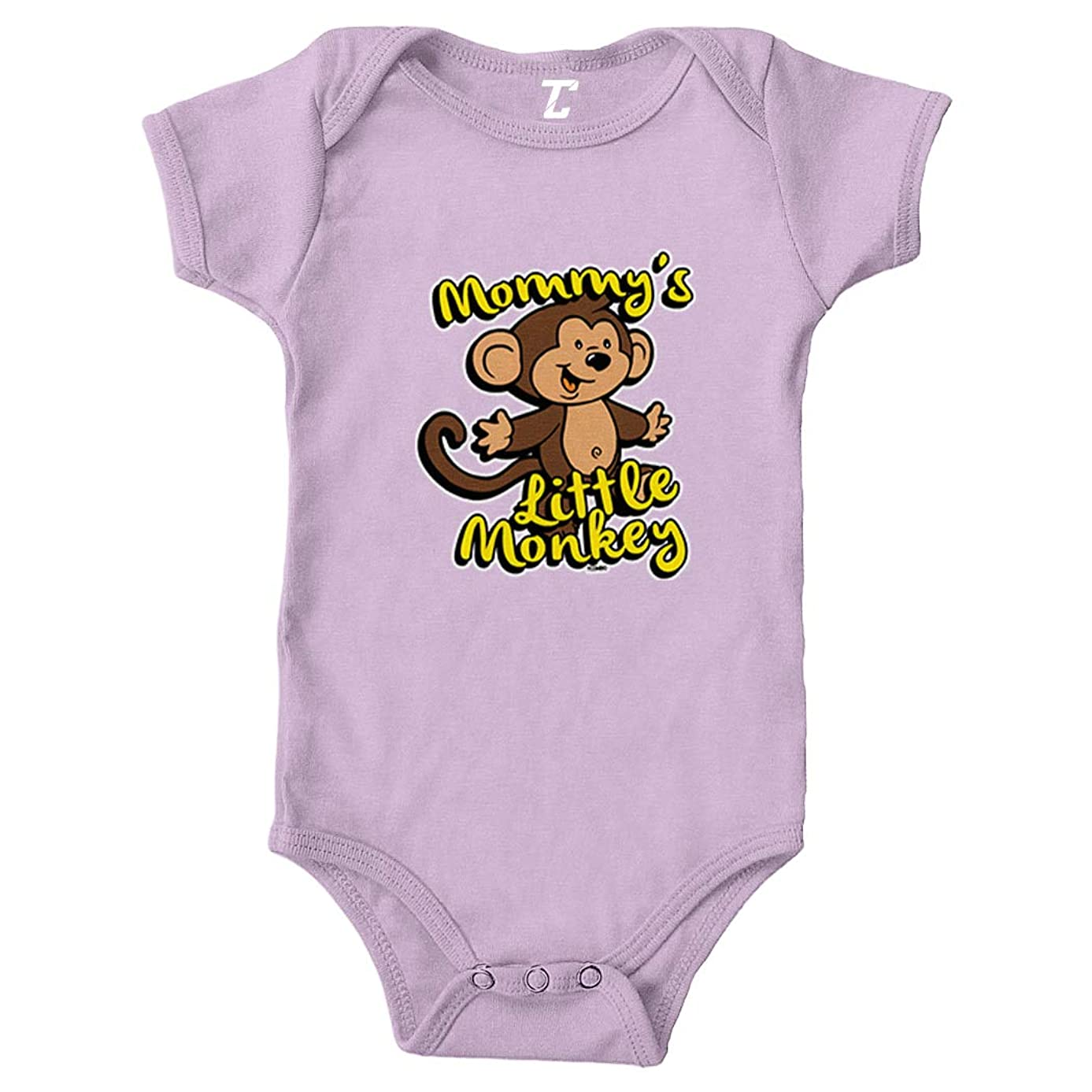 Tcombo Mommy's Little Monkey - Humor Funny Bodysuit