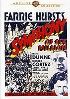 Symphony of Six Million [DVD] [Import]