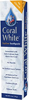 Coral LLC - Coral White Toothpaste Tea Tree Flavor - 6 Ounce