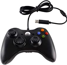 Funcilit Xbox 360 Wired Controller for Windows & Xbox 360 Console Black