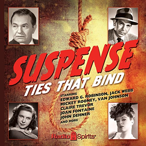 Suspense: Ties That Bind audiobook cover art