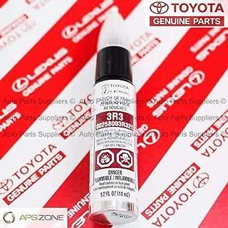 Genuine Toyota 00258-003R3-21 Barcelona Red Metallic Touch-Up Paint Pen(1/2 fl. oz., 14 ml)