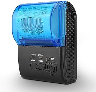 Bluetooth 4.0 Thermal Printer, Portable Wireless Printer,Mini USB Receipt Ticket POS Printer Printing for Ios Android Wind...