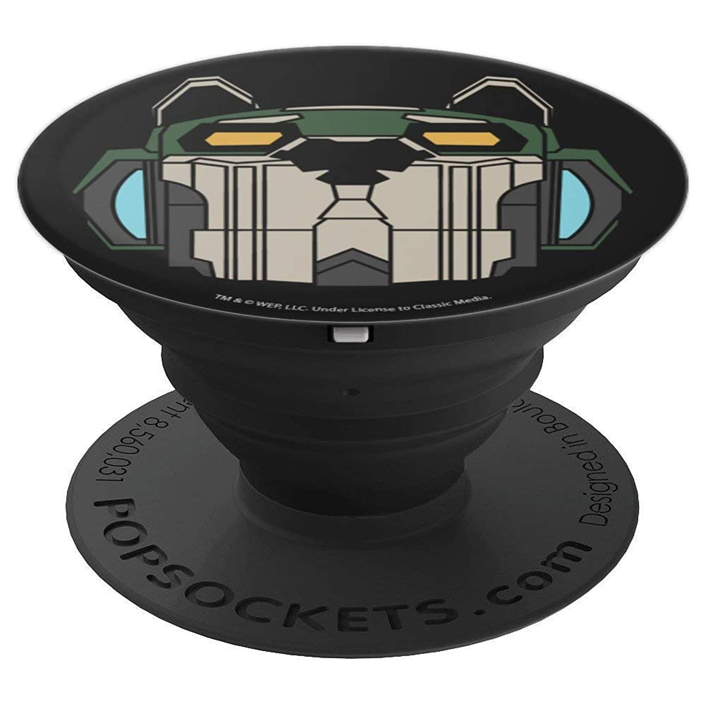 Voltron Defender Of The Universe Green Lion - PopSockets Grip and Stand for Phones and Tablets