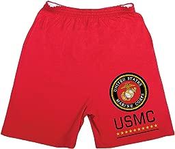 Fox Outdoor US Marines Military Emblem USMC Logo Jogging, Running Shorts