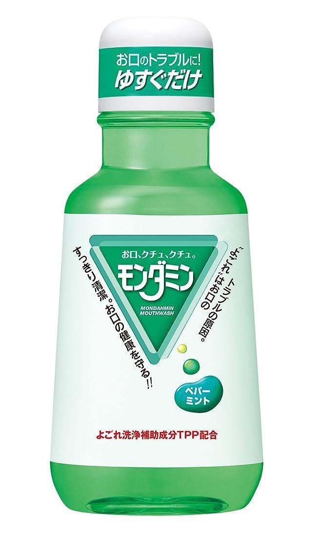 フィット規定効果的にアース製薬 マウスウォッシュ モンダミン ペパーミント 380mL