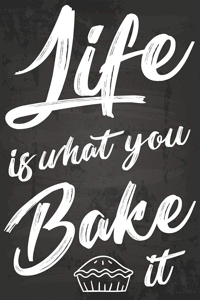 Posterazzi Collection Life is What You It Bake Print New Shipping lowest price Free Poster by N