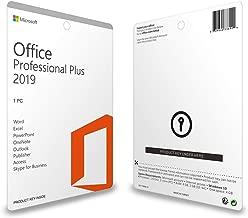Microsoft Office 2019 Professional Plus (Key Card - 1PC)