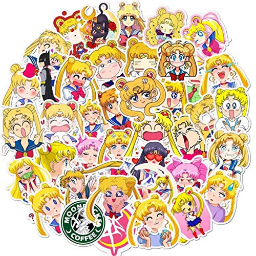 Jyuesi betrouwbare zeeman maan Cartoon lijm Stickers DIY dagboek briefpapier Sticker Decor