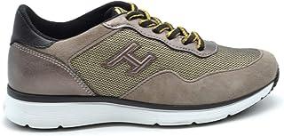 HOGAN Women's MCBI38165 Brown Suede Sneakers