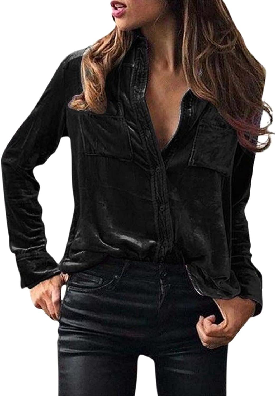 ManxiVoo Women's Winter Velvet Turn Butt security Cheap mail order specialty store Collar Long Sleeve Down