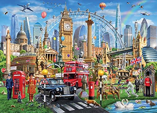 London 500 Piece Jigsaw Puzzle