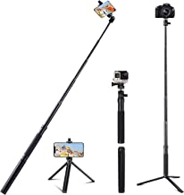 Eocean 46-Inch Selfie Stick Tripod, Extendable Selfie Stick with Wireless Remote, Compatible with iPhone Xs/Xr/Xs Max/X/8 Plus/Galaxy Note 9/S9/S9 Plus/Google/Huawei/Xiaomi/GoPro