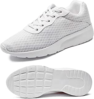 Abuqino Women's Walking Shoe Lightweight Slip on Mesh Running Breathable Tennis Sneakers