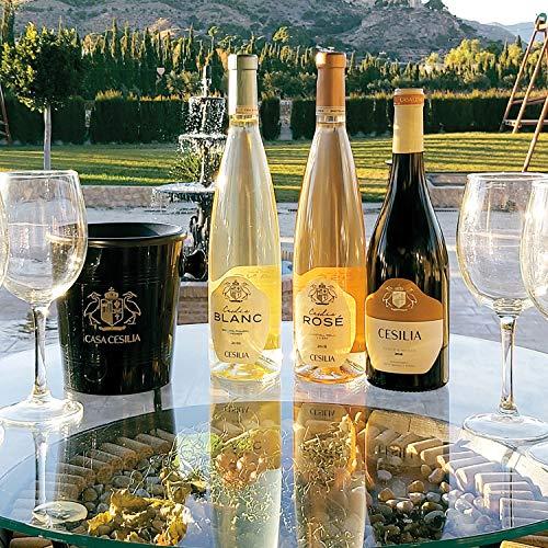 Smartbox - Caja Regalo - Brindis Exquisito: Visita guiada a Bodega y Viñedos Heretat de Cesilia con cata de 3 vinos y picoteo - Ideas Regalos Originales