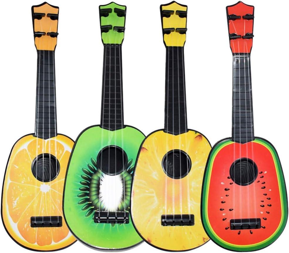 Max 53% OFF TOYANDONA 4pcs Ukulele Small Guitar Shape Ins Portland Mall Cute Musical Fruit