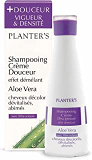 Planter's – Shampoo Dolce all'Aloe Vera con balsamo per donare luminosità ed elasticità a capelli decolorati e danneggiati...