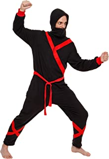 Ninja Costume One Piece Pajama Slim Fit Cosplay Jumpsuit