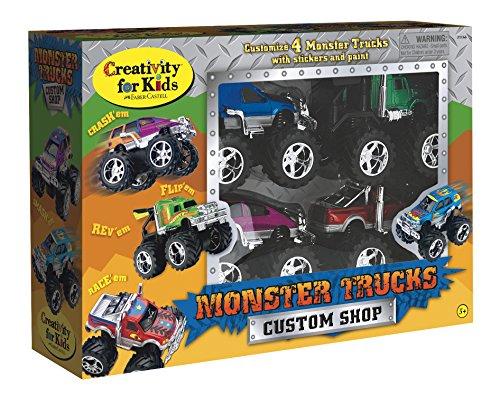 Creativity for Kids créativité pour Enfants – Monster Trucks