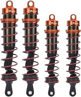 Dilwe Ammortizzatore per Auto RC 92mm 1 Paio di ammortizzatori in Metallo per Accessori per ricambi Auto 1//10 RC
