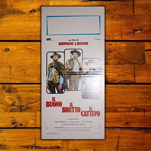 GoPoster Locandina Cinema Il Buono Il Brutto Il Cattivo - Formato: 33 x 70 cm