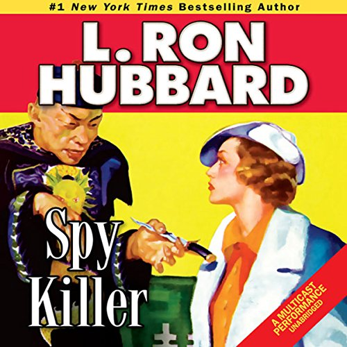 Spy Killer audiobook cover art