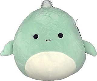 "Official KellyToy Squishmallows 8"" Antoni The Green Sea Turtle Plush Stuffed Toy"