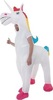Adult Unicorn Inflatable Costume Magic Horse Fancy Dress Up Mens Womens Costumes
