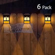 Best fence hanging solar lights Reviews