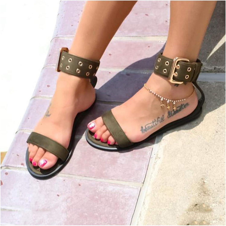 Women Sandals Transparent Flat Summer Gladiator Open Toe Clear Jelly shoes Women Roman Beach Sandals