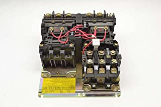 Allen-Bradley 505-AOD 3 HP at 200/230 Volt 60 Hz 18 Amp Reversing Motor Starter, N/A