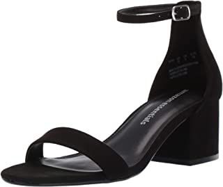 Amazon Essentials Women's Two Strap Heeled Sandal
