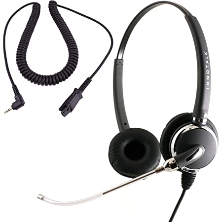 Voice Tube Mic 2.5 mm Headset Built in Quick Disconnect Compatible with Plantronics QD