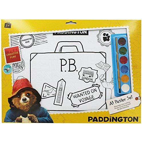 Gosh! Designs PMS Paddington Poster mit Farbe, A3, 6 Bögen