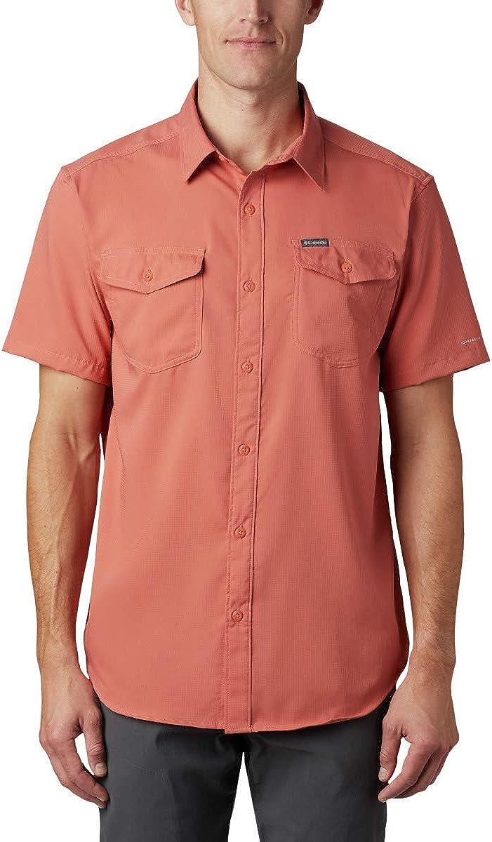 Columbia Men's Utilizer II Shirt Arlington Mall Solid New arrival Sleeve Short